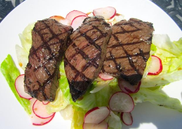 Steak Salad Sandwich