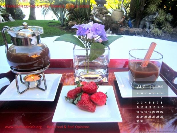 August Calendar US