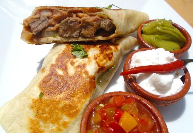 Burritos De Carne De Res
