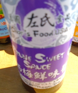 Prune Sweet Sauce