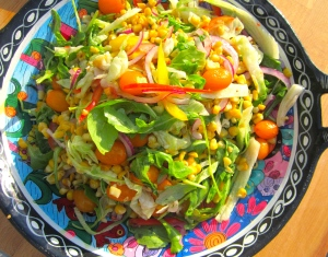 plate the salat