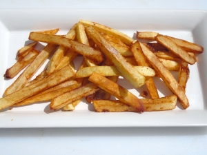 plate the fries