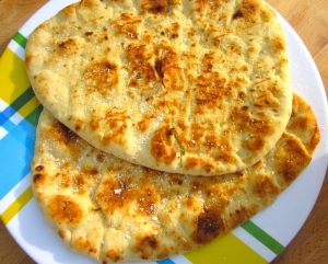 serve with hot naan