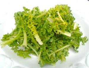 arrange salad on serving dish