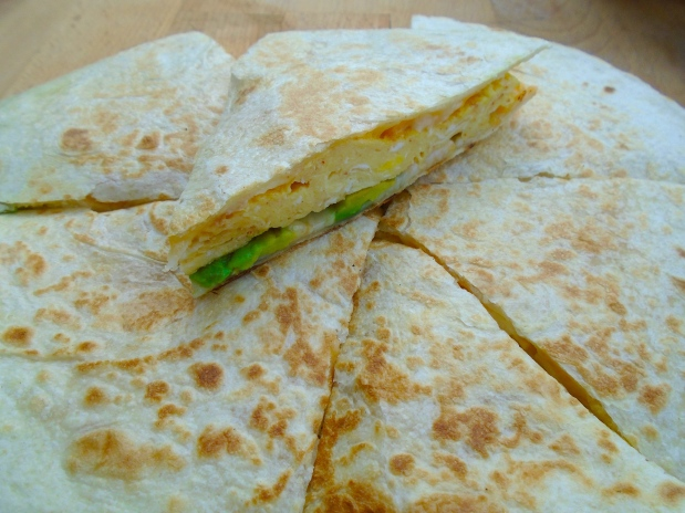 Breakfast Of Champions # 48 - Egg-Quesadilla