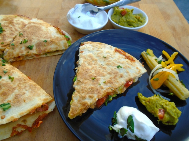 Chipotle-Chicken Quesadilla