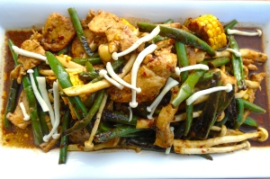 Stir Fried Chicken And Vegetables In Black-Bean Chile Sauce