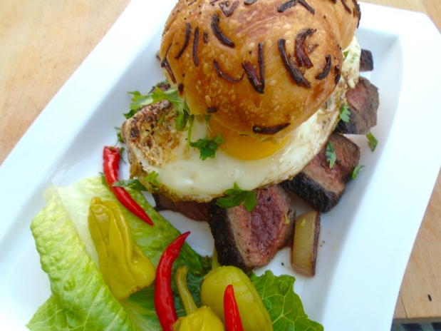 Steak Sandwich - Boss Level