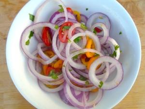 marinade onions overnight