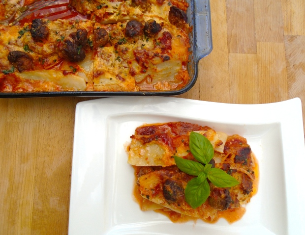 "Potato And Meatballs ""Lasagna"""