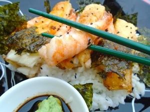 CHIRASHIZUSHI (SCATTERED SUSHI) (ちらし寿司