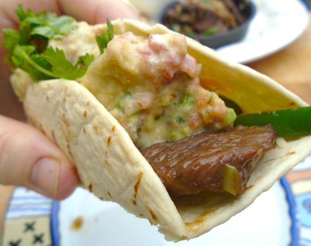 Fajitas De Res (Beef Fajitas)