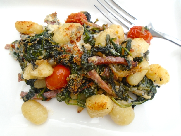 Gnocchi Gorgonzola Gratinati