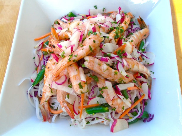 Shrimp & Glass Noodle - Salad