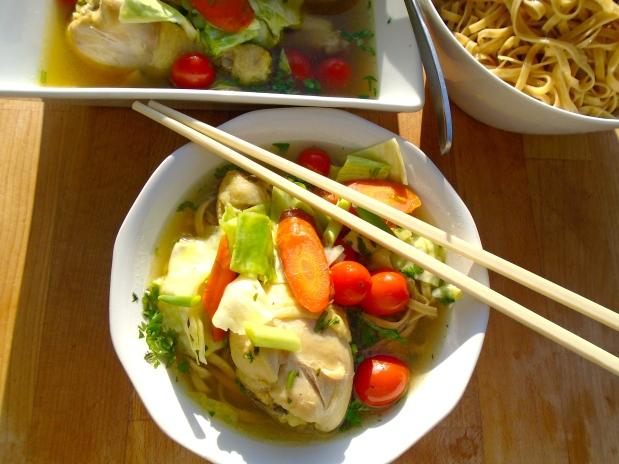 Chicken, Noodle & Vegetable Soup - Recipe # 1001