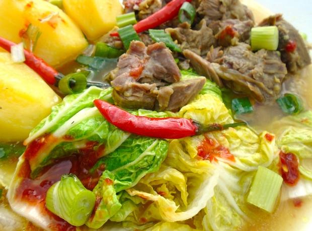 Korean Inspired Beef Stew (Galbijjim) (kalbitɕ͈im)