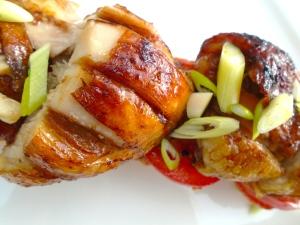 Open-Faced Chicken Sandwich