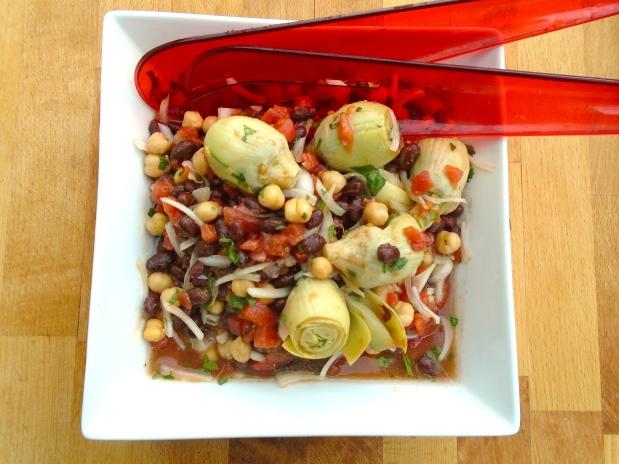 Artichoke & Legume Salad