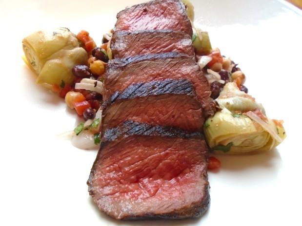 Steak Salad - Just A bit Different