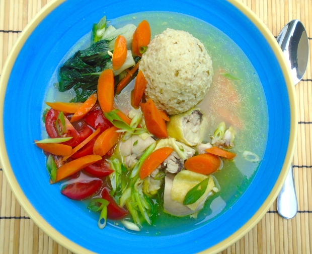 Chicken,Matzo Ball And Vegetable Soup - Recipe # 3731