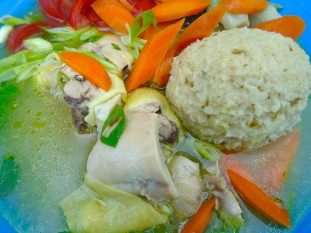 Chicken, Matzo Ball And Vegetable Soup - Recipe # 3731