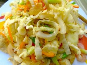remove veggies from pan, set aside