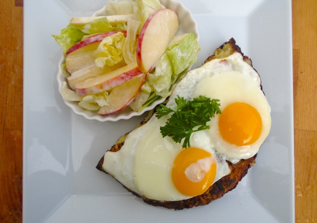 Käse Rösti (Swiss Hash Browns With Cheese)
