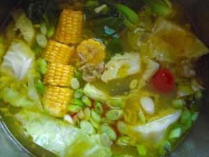 add 1 tblsp patis (Fish Sauce), check/adjust seasoning