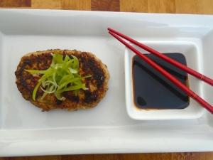 Asian Flavored Pork Burger