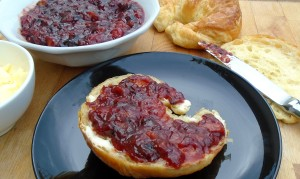 Powidl Mit Pfirsich  (Plum Chutney With Peaches)