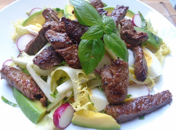 Steak Salad Recipe # 2371
