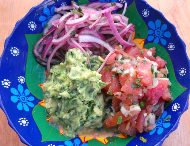 Mexican Treasures - Guacamole, Escabeche De Cebolla, Salsa Mexicana