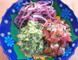 Mexican Treasures – Guacamole, Escabeche De Cebolla, Salsa Mexicana