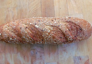 Italian five grain bread