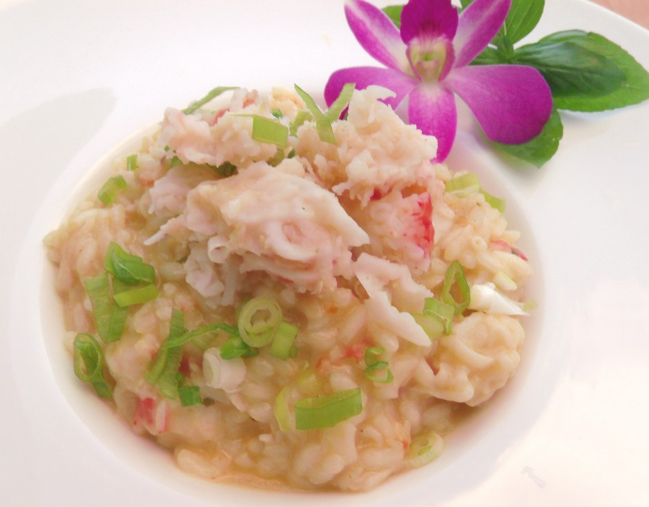 Poor Man's Crab Meat Risotto
