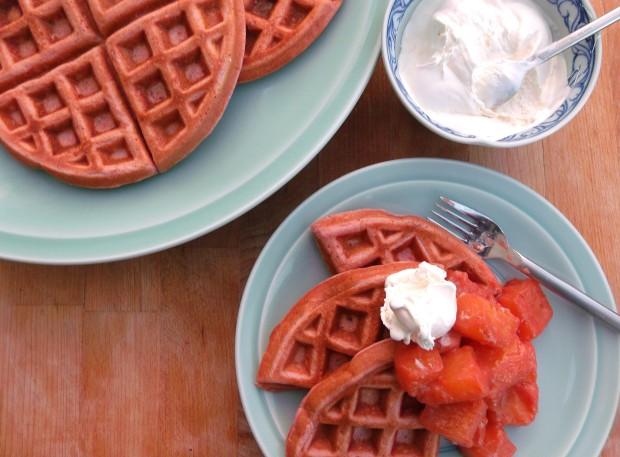 Good Red Velvet Waffles