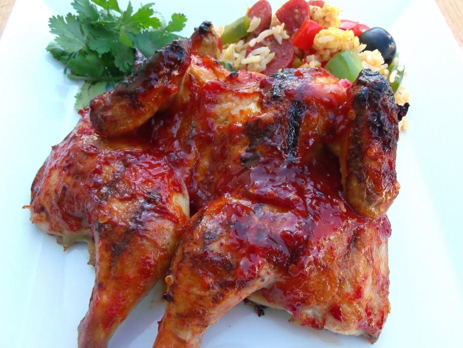 Piri Piri Chicken And Portuguese Fried Rice
