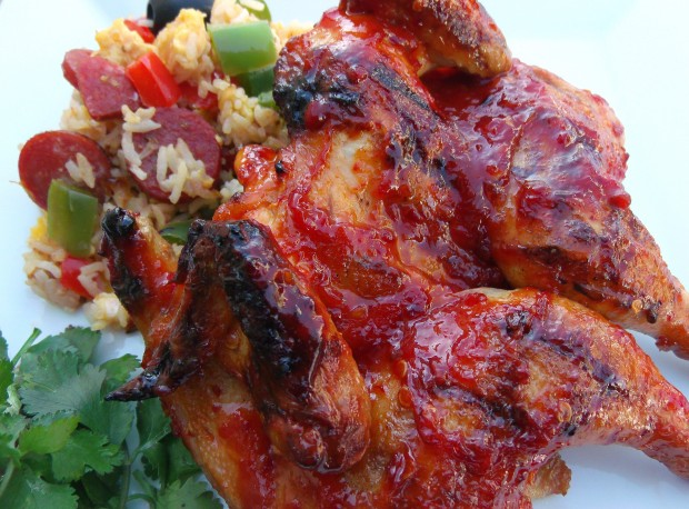 Piri Piri Chicken And Portuguese Fried Rice