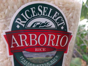 measure 2 cup arborio rice