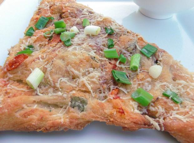 Serrano-Ham And Brie-Cheese Bread