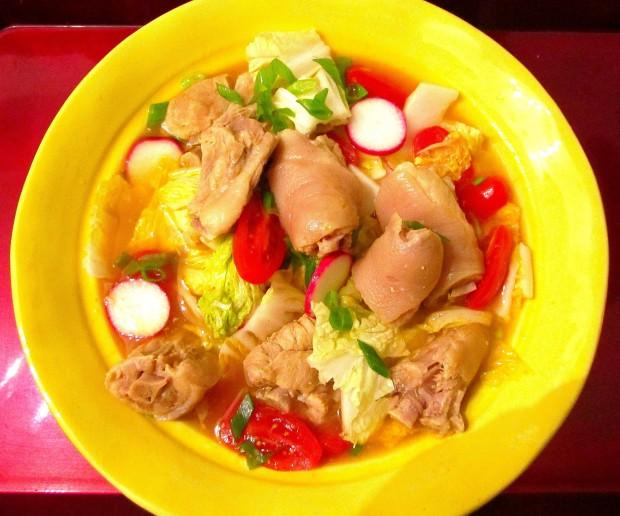 Sinigang Na Baboy  (Pork Sinigang)