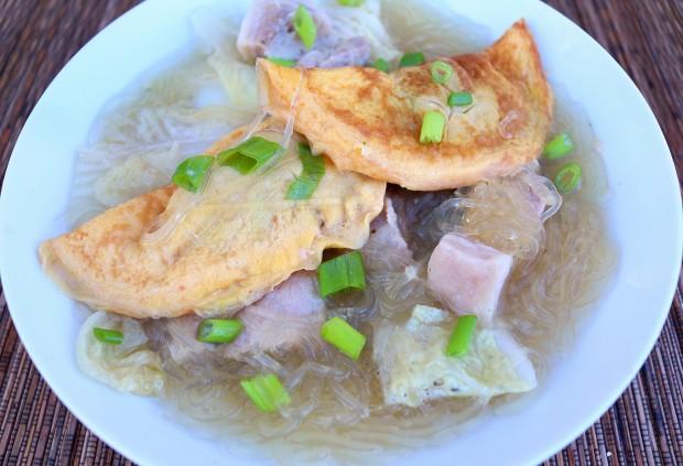 Chinese New Year Egg Dumpling Soup ( 蛋饺 ) ( Dan Jiao ...